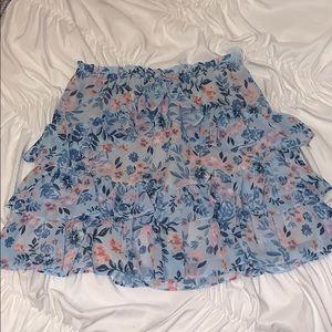 Lovers and Friends Ruffled Mini Skirt